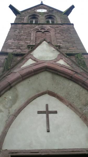 Turm der Kirche in Annarode.