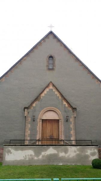 Ein Kirchenbau.